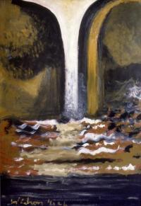 <em>Waterfall</em>, 1964