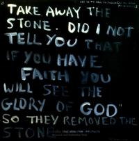 <em>Take away the stone</em>, 1969