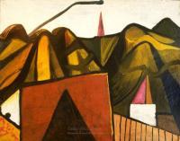 <em>Nelson city landscape</em>, 1947