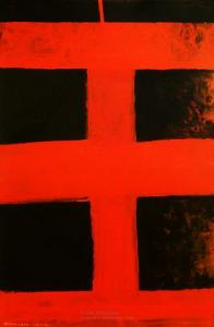 <em>Black and red</em>, 1976