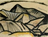 <em>Landscape from aerodrome</em>, 1947