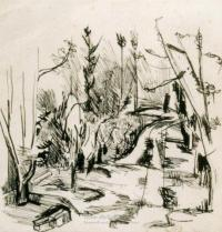 <em>[Road through bush]</em>, 1942