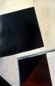 <em>Black and red</em>, 1961