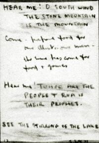 <em>Hear me O south wind no. 13</em>, 1977