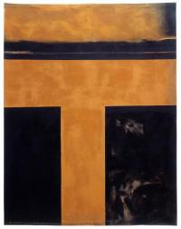 <em>The days and nights in the wilderness showing the constant flow of light passing into a dark landscape</em>, 1971