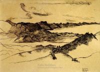 <em>Golden Bay upon Takaka Hill</em>, 1939