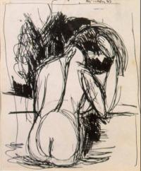 <em>Bathers no. 3</em>, 1943