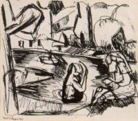 <em>Bathers no. 4</em>, 1943