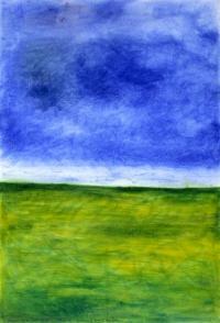 <em>A poem of Kaipara Flat - Buttercup fields forever</em>, 1971