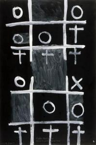 <em>Noughts and crosses, series 1, no. 4</em>, 1976