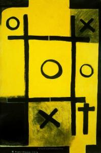 <em>Noughts and crosses, series 2, no. 5</em>, 1976