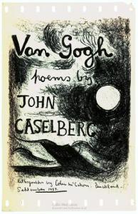 <em>[Cover design for Van Gogh -  poems by John Caselberg]</em>, 1957