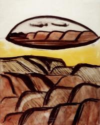 <em>[Hill landscape with inset]</em>, 1946