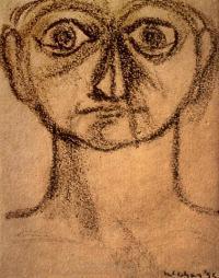 <em>[Face]</em>, 1955