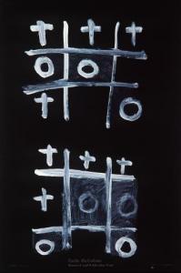 <em>Noughts and crosses, series 1, no. 6</em>, 1976