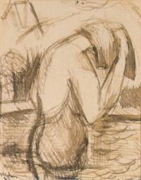 <em>Bathers no. 1</em>, 1943