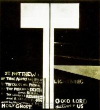 <em>St. Matthew: lightening</em>, 1977