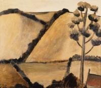 <em>Little landscape with tree</em>, 1951