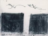 <em>A fall of light in a dark landscape</em>, 1971