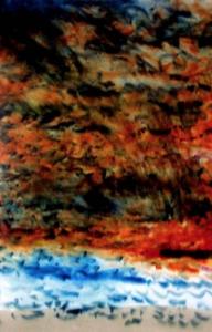 <em>Evening Muriwai (I)</em>, 1971